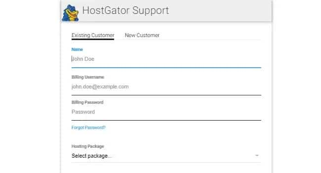 Chat soporte tecnico hostgatorr