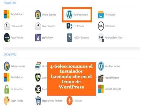 Cómo instalar WordPress en HostGator Paso 4