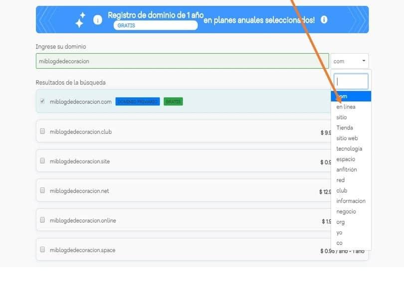 Registro de dominio-hostgator